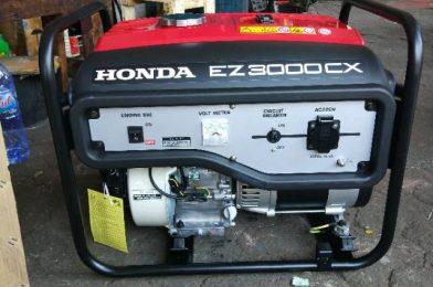 Genset Honda Seri EU Favorit Para Traveler